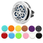 Steel Magnetic Car Vent Essential Oil Diffuser Air Freshener Aromather