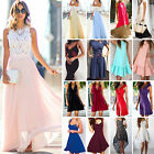 Women Long Maxi Dress Cocktail Evening Party Prom Ball Wedding Summer Beach Boho