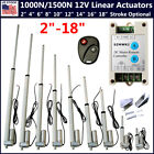 1000N/1500N Linear Actuator 12V Electric Motor for Solar Track Auto Door Lifting