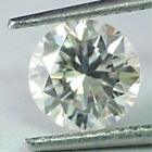 Loose Moissanite Off White Green VVS1-VS1 6.15 MM to 10.25 MM Round Cut