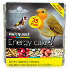 Wild Bird Suet Cakes, [35 PACK ] Energy ...