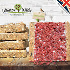 Wild Bird Suet Cakes, [10 PACK ] Energy Cakes. Handmade by Winston Wilds.