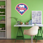 Philadelphia Phillies MLB Team Logo Color Printed Decal Sticker Car Window Wall on Ebay
