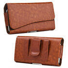 Leather Belt Clip Luxmo Pouch Holster Phone Holder Horizontal For LG Phones