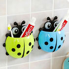 Внешний вид - Ladybug Toothbrush Holder Suction Ladybird Toothpaste Wall Sucker Bathroom Nobby