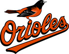 Baltimore Orioles MLB Team Logo Color Printed Decal Sticker Car Window Wall on Ebay