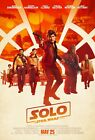 """Solo A Star Wars Story Movie Poster 13x20"""" 27x40"""" 32x48 Han Solo 2018 Film Print"""
