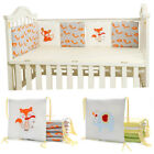 New Baby Cot Bumper Toddlers Crib Protection Pad Infants Nursery Bedding Set