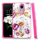 For LG Rebel 3 LTE L158VL Hybrid IMPACT Hard TUFF Hybrid Case Phone Cover