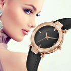 Retro Luxury Women's Leather Dial Quartz Wrist Watch Ladies Casual Dress Watches