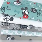 Mickey mouse 100% cotton bundle & fabrics per 1/2 metre