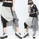2018 Womens Mixed Colors Striped Hip Hop Harem Loose Trousers Casual Sport PantS