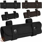 Leather Cartridge Holder .22 cal Shell Pouch Ammo Wallet Hunting