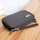 Travel Storage Bag Electronic Accessories USB Cable iPad Air Organizer Pouch