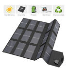 Waterproof 100W Foldable Solar Panel 12V Battery Charger for Phone USB Devices