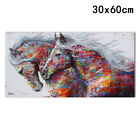 Colourful Horse Canvas Print Art Oil Painting Wall Picture Home Decor Unframed