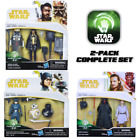 Star Wars Force Link 2.0 Figures Lando Solo, Rose, Darth Maul Qui Gon 2-Pack Lot $23.99 USD