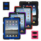 FOR APPLE I PAD MODEL 2,3,4 MILITARY HEAVY DUTY BUILDER  SURVIVAL CASE