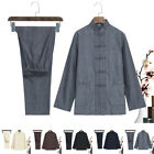 Kung fu Tai chi Uniform Martial arts Wushu Taiji Wing Chun Suit Shirt+ Pants Set