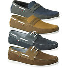 Duke D555 King Size Big Tall Mens Dench or Elton Slip On Or Lace Up Boat Shoes