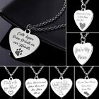 She Believed She Could, So She Did Letters Stainless Steel Pendant Necklace New