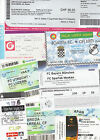 TICKETS:Matches Clubs In Europe Lot 2 *Select from list*