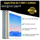 Apple iPad Air 2 16/32/64/128GB Wi-Fi + Cellular 4G Unlocked 9.7&quot; - Black/White <br/> 12 MONTHS WARRANTY - FAST SHIPPING - AMAZING PRICE!