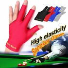 Spandex Snooker Billiard Cue Gloves Pool Left Hand Open Three Finger Glove UK £2.59 GBP on eBay