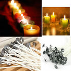 Внешний вид - 100pcs 15cm Candle Wick Pre Waxed Cotton Core with Sustainers Wax Candle Making
