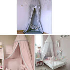 Kids Baby Bed Canopy Netting Bedcover Mosquito Net Curtain Bedding Dome Tent image