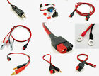 Adapter Cables fit ANDERSON POWERPOLE, Power Supply, Battery, F2, 4mm Post, Ring