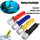 Внешний вид - Underwater CREE XM-L T6 LED Bright Diving Flashlight Torch Lamp Light Waterproof