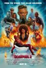 "Deadpool 2 Movie Poster 13x20"" 27x40"" 32x48"" Ryan Reynolds Superhero Art Print"