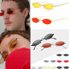 VINTAGE TRENDY SMALL OVAL FRAME SUNGLASSES WOMEN RETRO FASHION SHADES GLASSES CL