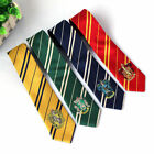 Harry Potter Scarf Tie Hat Cap Costume Gryffindor Slytherin Hufflepuff Cosplay