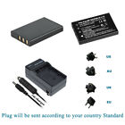 2x 3.7v Li-ion Battery /Charger for Drift HD Professional HD Action Camera New