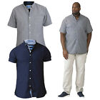 Duke D555 Mens Big King Size Norman Cotton Casual Summer Short Sleeved Shirts