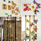 12PC 3D Colorful Butterfly Wall Stickers Bedroom Decals Home Art Decor DIY