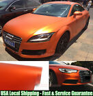 Entire Car Wrap Fast Satin Matte Metal Metallic Chrome Vinyl Sticker Film Abus