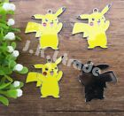 POKEMON Pikachu Jewelry DIY Making Metal Charms Pendant 20/50Pcs 02
