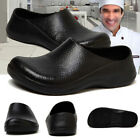 Chef Shoes Mens Non Slip Clogs Water proof Oil proof Safety Kitchen Style Comfy