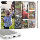 PERSONALISED PHOTO IPHONE CASE I PHONE 6, 7, 8 PLUS, X CASE HARD COVER FOR APPLE