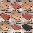 Replacement Saddle Fenders Hilason Leather Western Adult W/ Hobble Strap U-P-VX