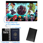 Avenger Hulk Star Wars Luggage Tag & Passport Holder Leather Travel Wallet