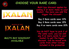 MTG Choose your Ixalan / Rivals of Ixalan Rare Card - M/NM - Buy 2 save 10 %