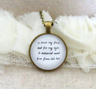 Tame My Flesh A Tethered Mind Free From The Lies Handcrafted Pendant Necklace