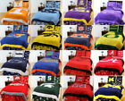 NCAA King Size 8 Pc Comforter Sets 23 Schools Cotton Bed in a Bag CC