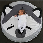 Play Mat Baby Crawling Floor Kids Soft Rug Pad Game Gym Activity Carpet Cotton