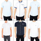 Brave Soul Mens Senate, Tribune Or Derin Shirts Short Sleeve Cotton Collared Top