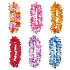 Leis Flower Garlands Hawaii Tropical Party Wear Hen Night Dress Necklace Sanwood